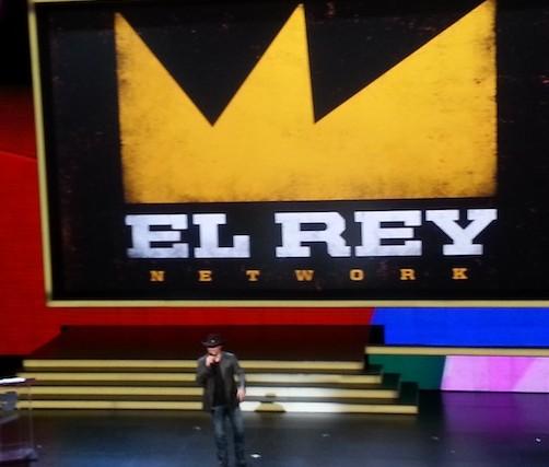El Rey - Robert Rodriguez Univision upfront