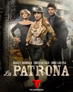 "High ratings for ""La Patrona"" have made it the #3 novela in Telemundo history."