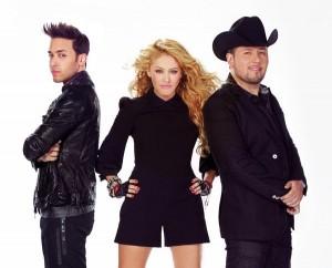 Prince Royce, Paulina Rubio, Roberto Tapia