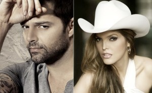 Ricky Martin and Ana Barbara