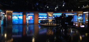 Univision Sacramento set