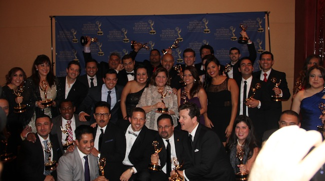 Univision Texas Emmy winners