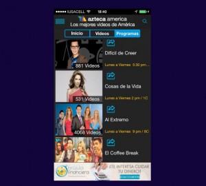 Azteca America app