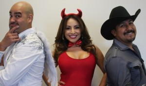 Raúl Molinar, Sylvia del Valle, and Andrés Maldonado.