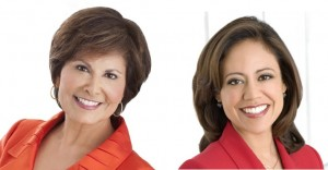 Gloria Campos and Cynthia Izaguirre