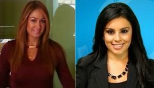 Beatriz Moncayo and Leticia Castro