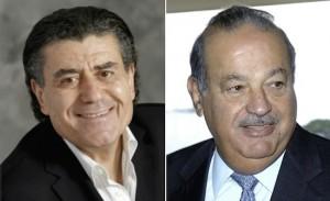 Haim Saban and Carlos Slim
