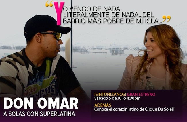 Gaby's first show on Vme will feature an interview with Don Omar.