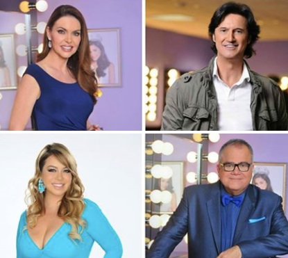 Bárbara Palacios, Poty, Chiquis Rivera and  Armando Correa were going to be the show's judges.