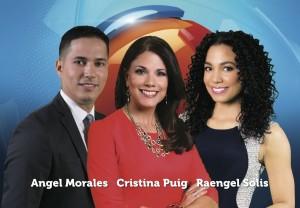 Angel Morales, Claudia Puig, Raengel Solis