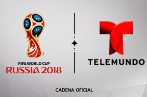 Telemundo World Cup logo Russia 2018
