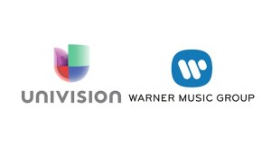 Univision-Warner logos