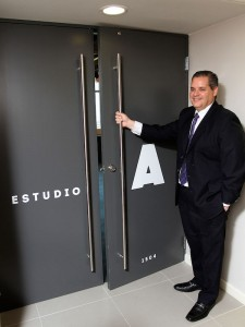 Víctor Montilla, VP and GM of Telecino, Inc. in the new station.