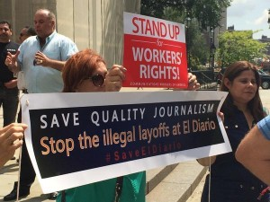 El Diario fired employees Aug2014
