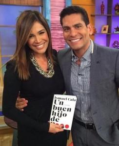 "CNNE host Ismael Cala promoted his book on ""Despierta América"" on Nov. 27, 2014."