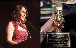 Maria Elena Salinas broadcast legend