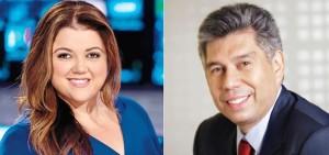 Sandra Smester and Daniel Coronell