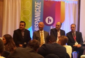 Latino journalist survey panel Hispanicize