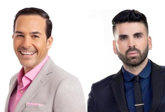Carlos Calderon and Jomari Goys