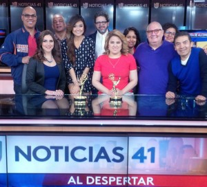 Univision 41 won best morning newscast.