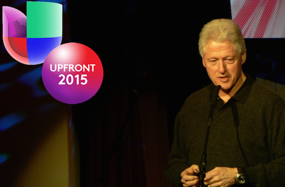 Bill Clinton Univision Upfronts 2015