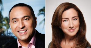 Allan Navarrete and Angela Recio Sondon