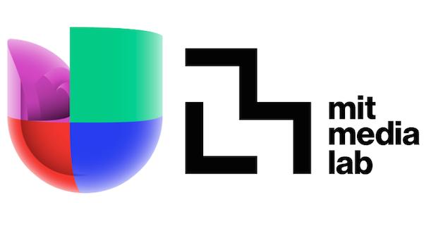 Univision and MIT Media Lab logos
