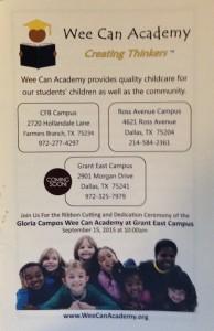 We-Can Academy Gloria Campos