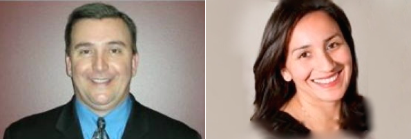 Joe Mackay and Leticia Aguilera