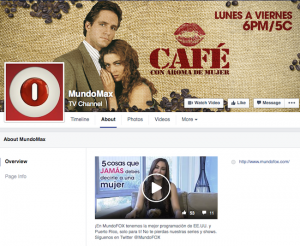 The name on the MundoFox Facebook page was switched to MundoMax, although remnants of the logo and the website remain.