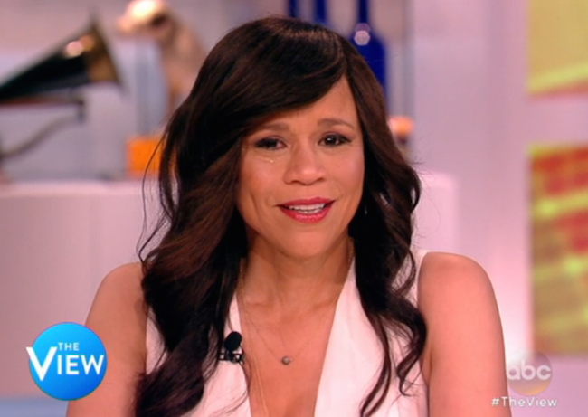 Rosie Perez The View farewell
