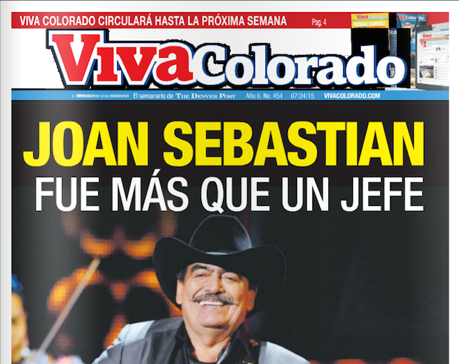 Viva Colorado July 24,2015 cover