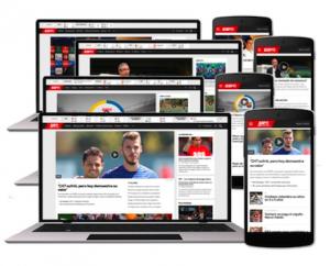 ESPN Deportes websites