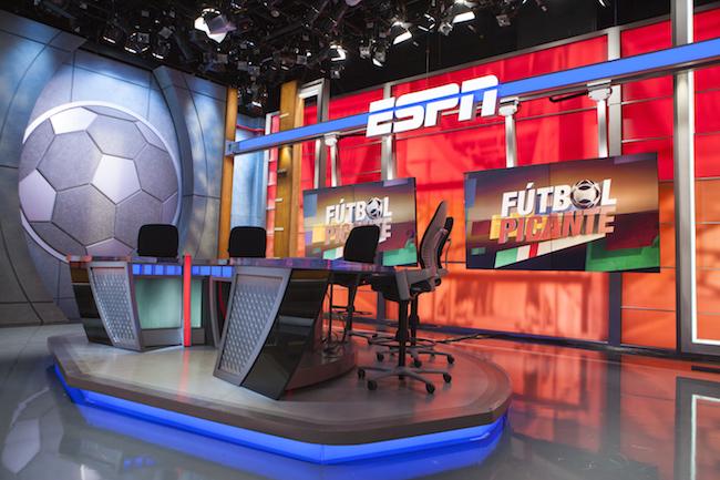Futbol Picante new studio