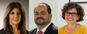 Lilly Gonzalez, Humberto Hormaza, Marta Salazar