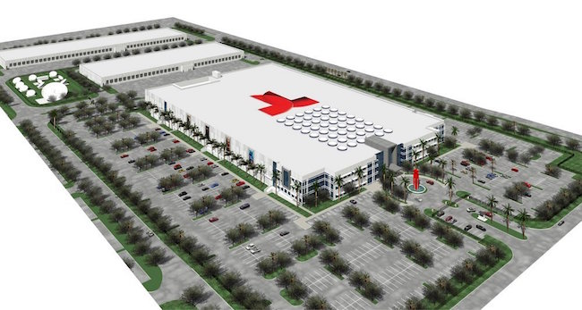 Telemundo headquarters rendering