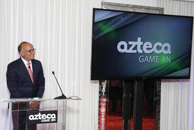 Manuel Abud Azteca upfront