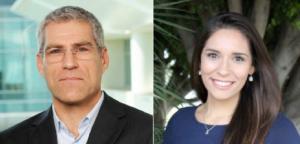 Jeffrey Glaser and Cristina Haro