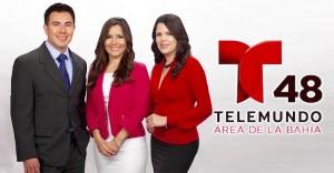 Telemundo 48 morning team
