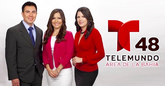 Telemundo 48 morning team
