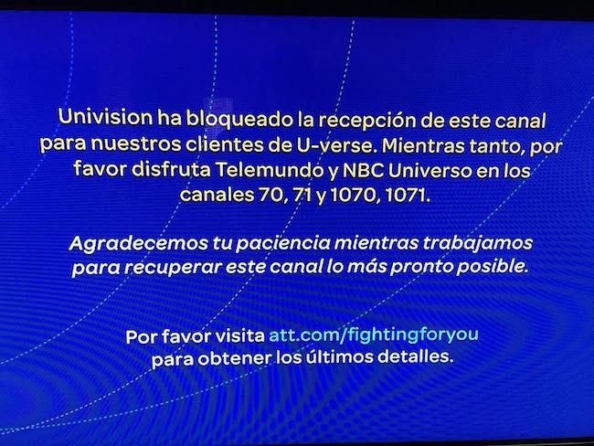 Univision-ATT-blackout