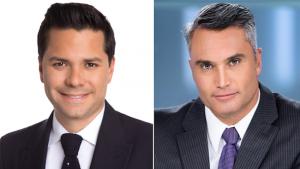 Luis Carlos Velez and Edgardo Del Villar