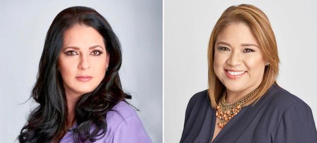 Maria Martinez Guzman and Gabriela Tristan