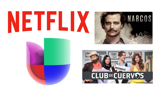 Netflix partners with Univision