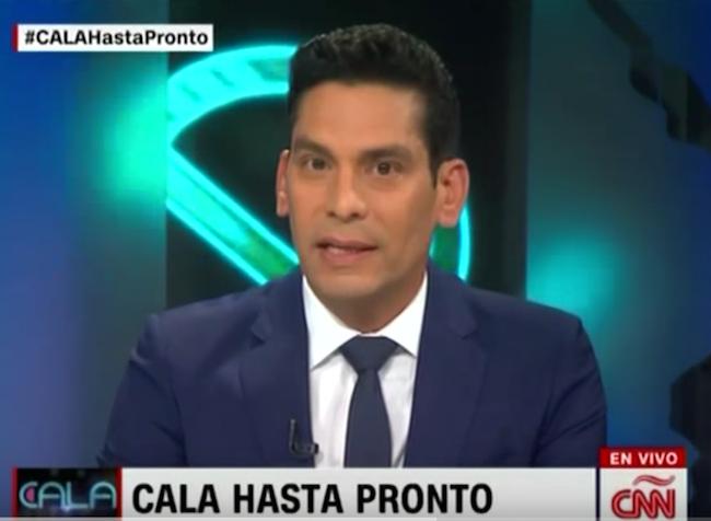 Ismael Cala resigns CNNE