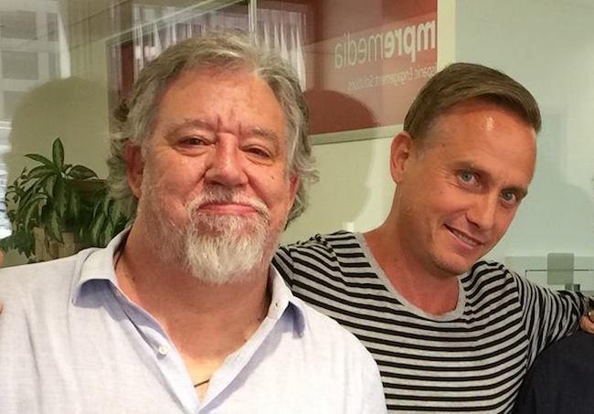 Henrik Rehbinder and Josep Parera