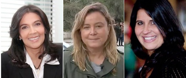 Vanessa Pombo, Gemma Garcia, Leticia Herrera