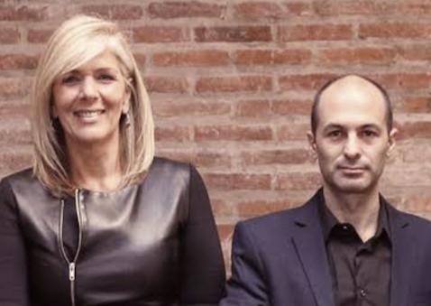 Antoinette Zel and Diego Prusky