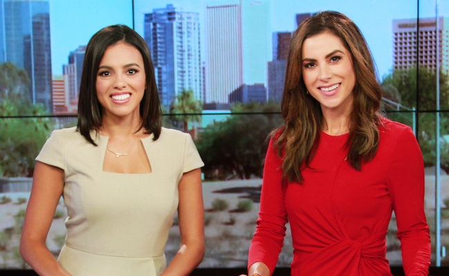 Paola Morales and Jimena González.
