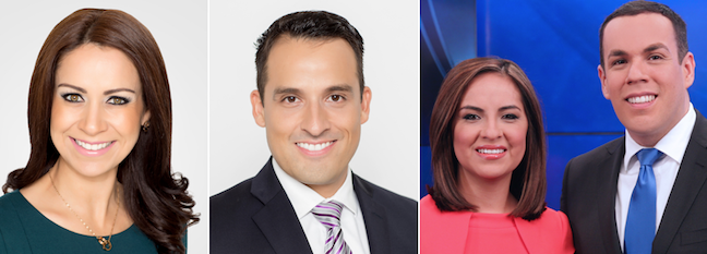 Telemundo's KTLM and WSNS name new 4 pm anchors
